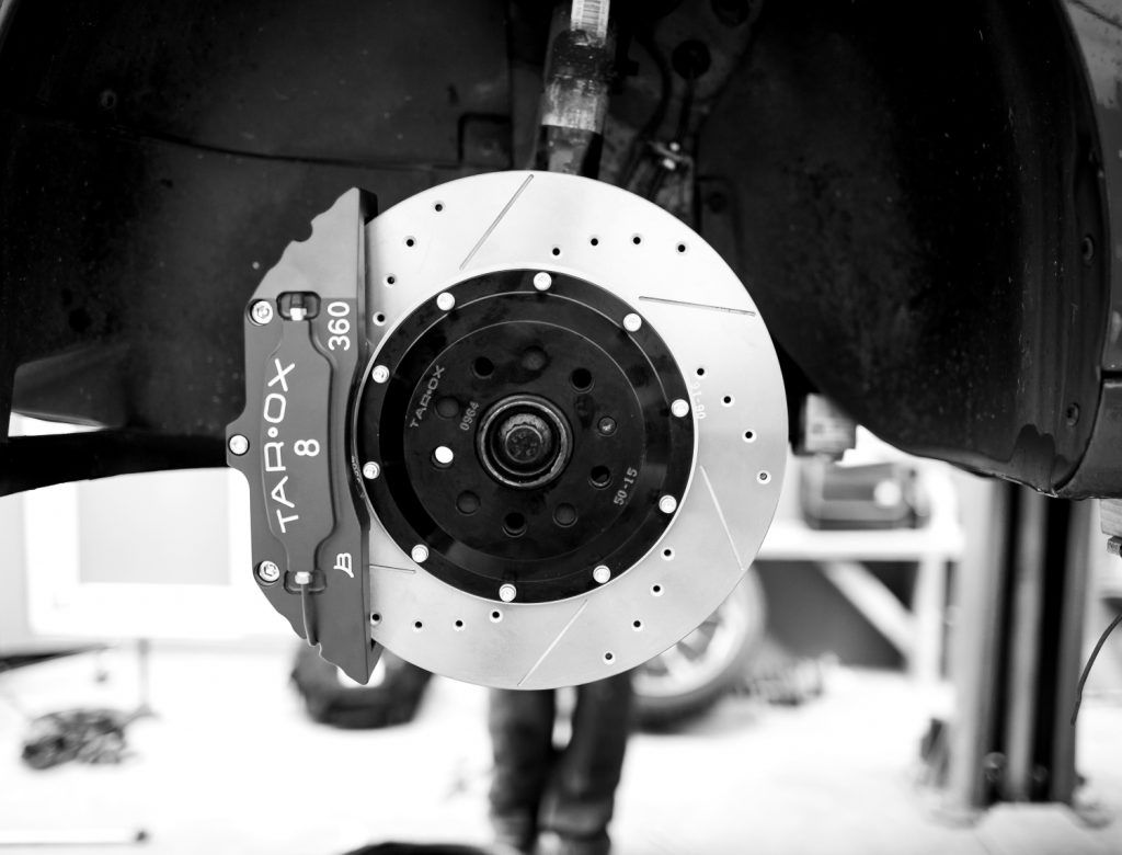 Caliper disc direction