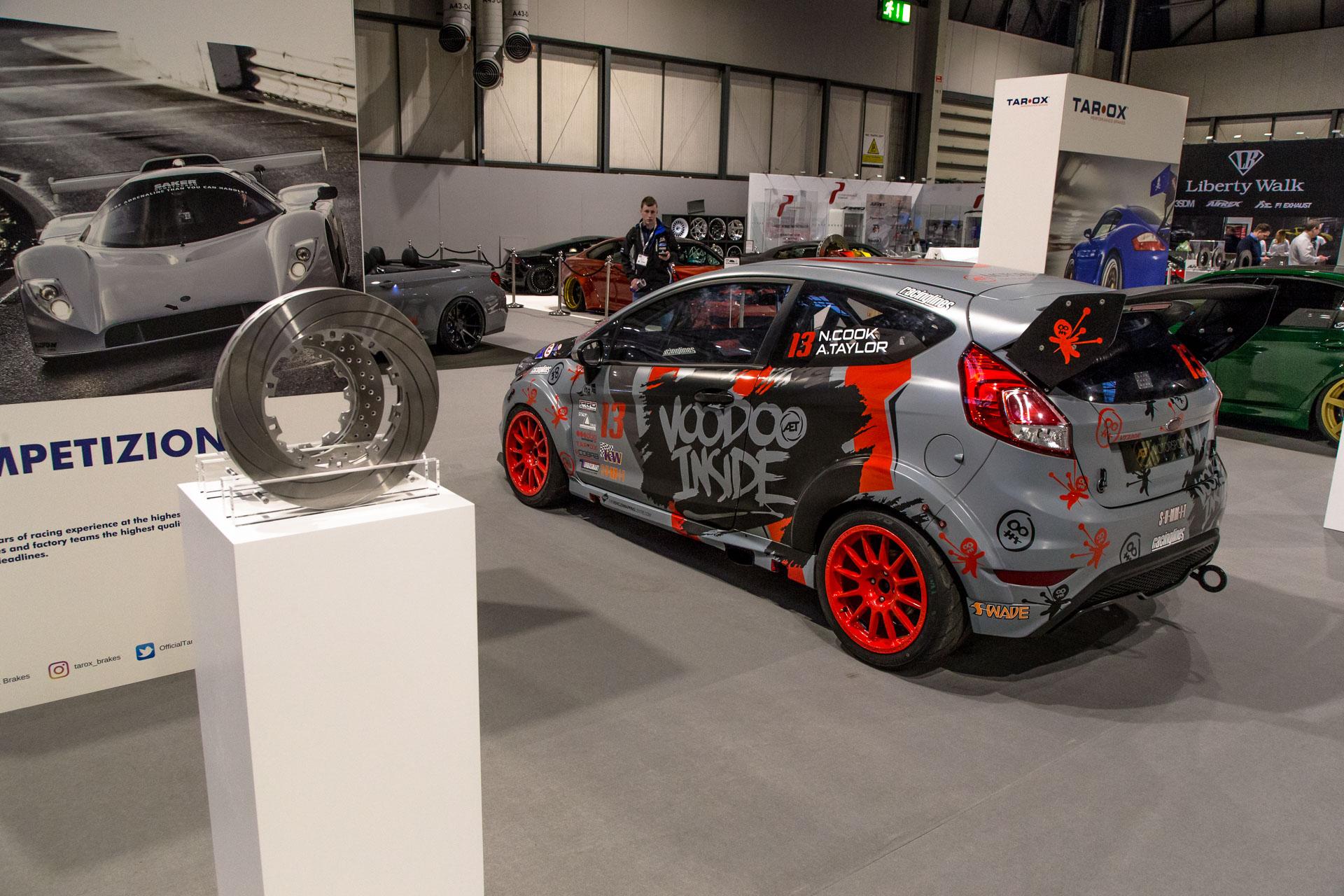 AET Motorsport Fiesta shines at Autosport
