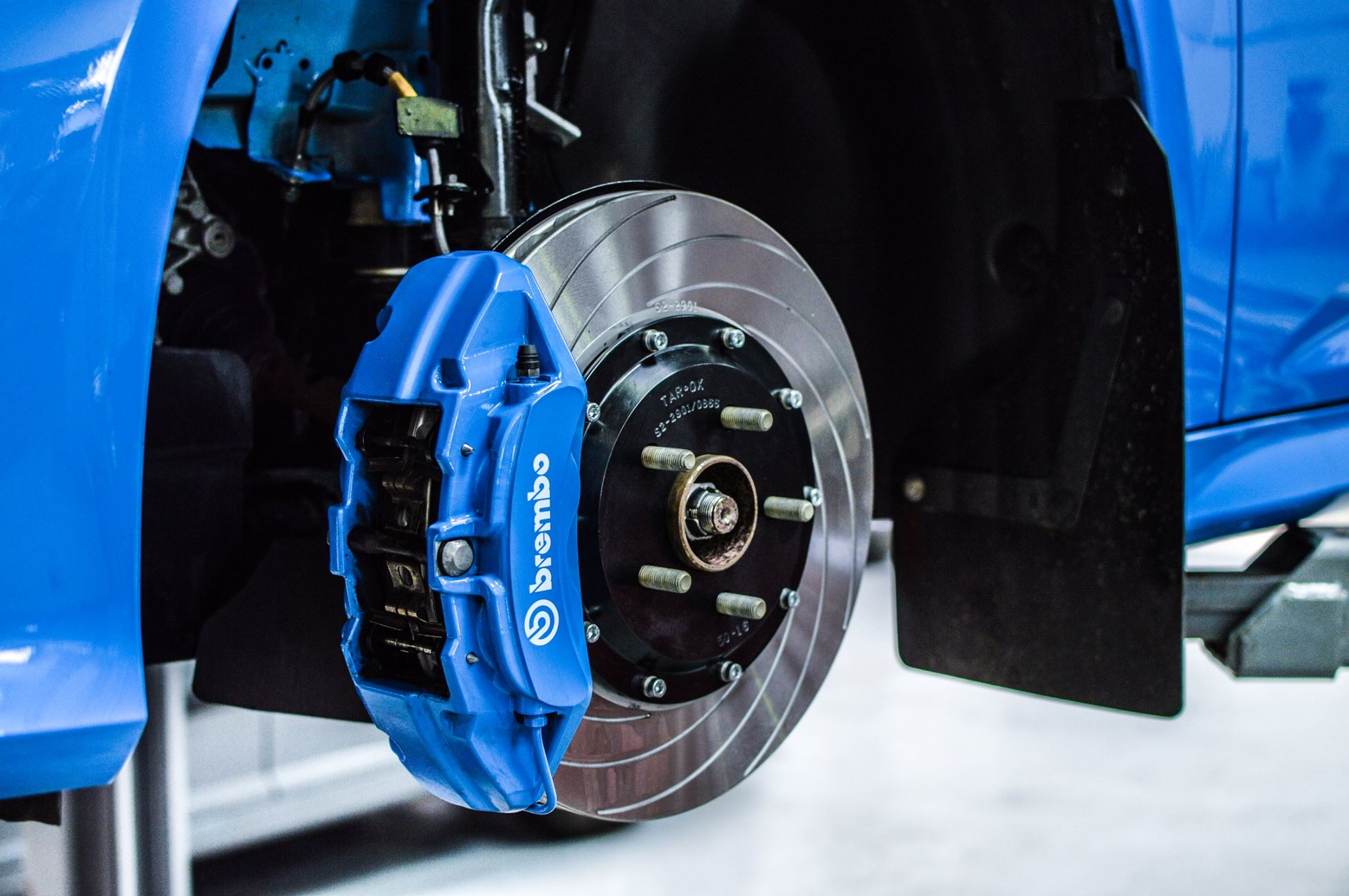 TAROX two-piece disc upgrade for Ford Focus RS