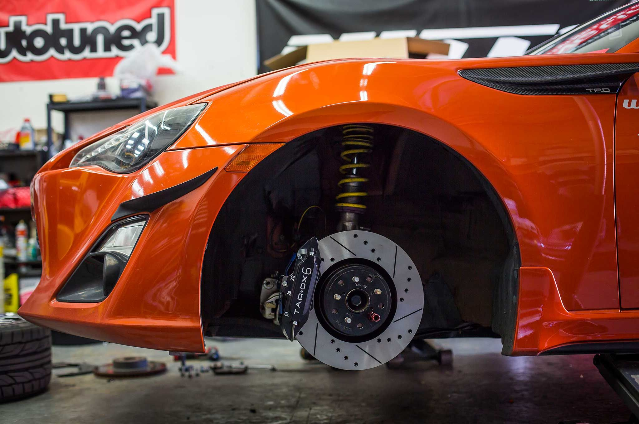Super Street Project FR-S gets a much-needed TAROX upgrade!